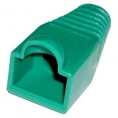 Funda Kablex Conector RJ45 CAT. 6 Green Pack 10U
