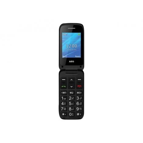 Telefono Movil AEG Telecom Senior SM420 Black