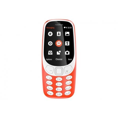 Telefono Movil Nokia 3310 Dual SIM Warm red