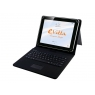 "Funda Tablet E-VITTA 9.7"" - 10.1"" Keytab + Teclado Touch USB Black"