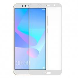 Protector de Pantalla HT Cristal Templado 3D White para Huawei Y6 2018 / Honor 7A