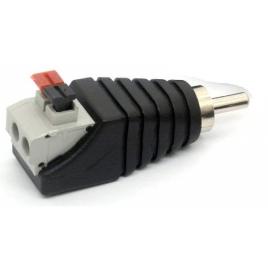 Adaptador Kablex RCA Macho / 2X AV Hembra