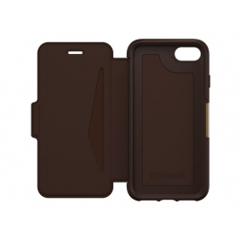 Funda Movil Otterbox Strada Folio Brown para iPhone 8 / iPhone 7