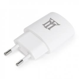Cargador USB Maillon 2.1A White para Casa