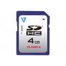 Memoria SD V7 4GB Class 4