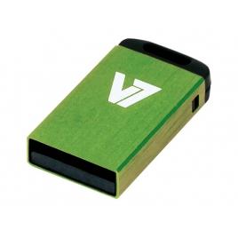 Memoria USB V7 8GB Nano Vu28gcr USB 2.0 Green