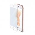 Protector de Pantalla Celly Cristal Templado Full Glass White para iPhone 7 Plus