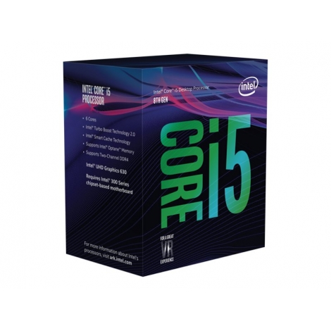 Microprocesador Intel Core I5 8400 4.0GHZ Socket 1151 9MB Cache Boxed