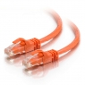 Cable C2G red RJ45 CAT 6 1M Orange