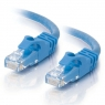 Cable C2G red RJ45 CAT 6A 0.5M Blue