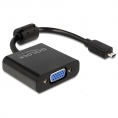 Adaptador Delock Micro HDMI / VGA Hembra