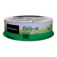 DVD+R Sony 4.7GB Lata 25U