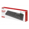Teclado Trust Multimedia 21999 con Smart Card Black