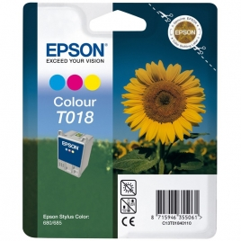 Cartucho Epson T018 Color Stylus Color 680/685