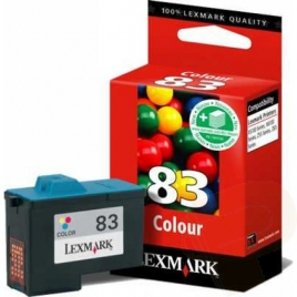 Cartucho Lexmark 83 Color Z55/Z65/X5130/X5150xx6150/X6170