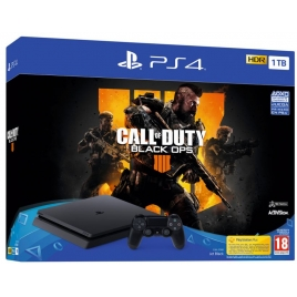 Consola Sony PS4 Slim 1TB + Call OF Duty Black OPS 4