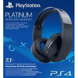 Auricular + Microfono Sony Platinum Wireless Headset Black PS4
