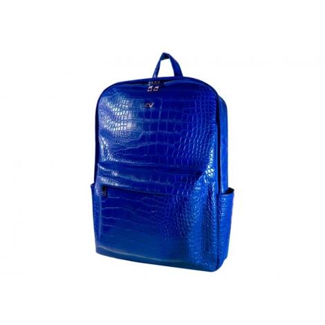 "Mochila Portatil E-VITTA 16"" Urban Backpack Leather Blue"
