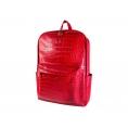 """Mochila Portatil E-VITTA 16"""" Urban Backpack Leather red"""