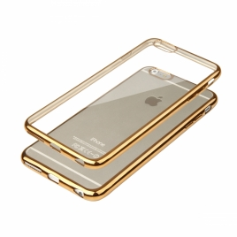 Funda Movil Back Cover HT Glossy Gold para iPhone 6/6S Plus