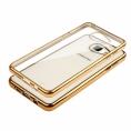 Funda Movil Back Cover HT Glossy Gold para Samsung A3 A310 2016