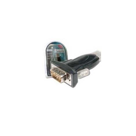 Adaptador Kablex USB 2.0 a Macho / Serie 9P 1.5M Black