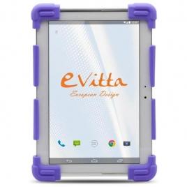 """Funda Tablet E-VITTA 9.7"""" - 12'' Silicona Purple"""