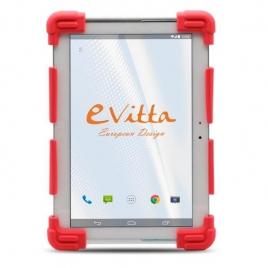 "Funda Tablet E-VITTA 9.7"" - 12'' Silicona red"