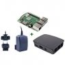KIT Raspberry PI 3 B+ + Fuente + Caja Black