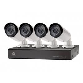 KIT Videovigilancia Conceptronic 4 Camaras Int/Ext + Grabador 8 Canales