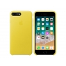 Funda iPhone 8 / 7 Plus Apple Leather Case Spring Yellow
