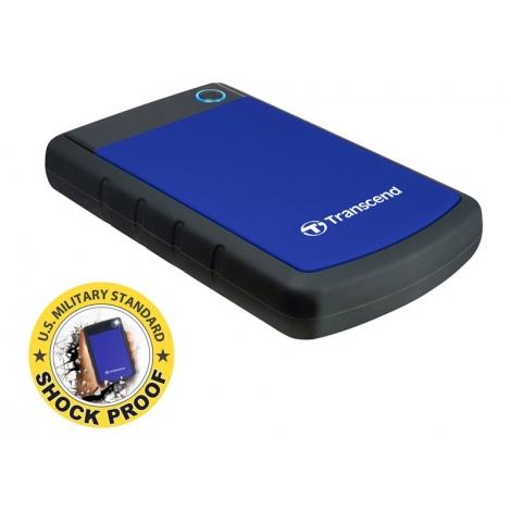"Disco Duro Transcend 2TB Storejet 25H3 USB 3.0 2.5"" Black/Blue"