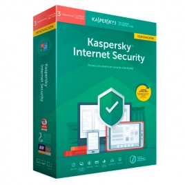 Antivirus Kaspersky Internet Security 2019 3 Licencias Renovacion