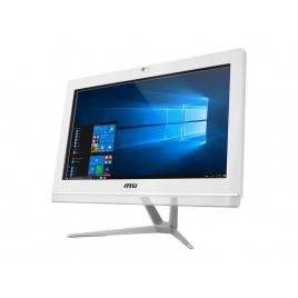 """Ordenador ALL IN ONE Msi PRO 20EX 7M 005EU CI3 7100 4GB 1TB 19.5"""" HD Dvdrw W10 White"""