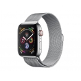 Apple Watch Serie 4 GPS + 4G 44MM Silver Stainless + Correa Milanese Loop Silver