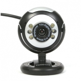 Webcam Omega C12SB USB Black