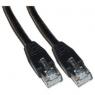 Cable Kablex red RJ45 CAT 5 10M Black