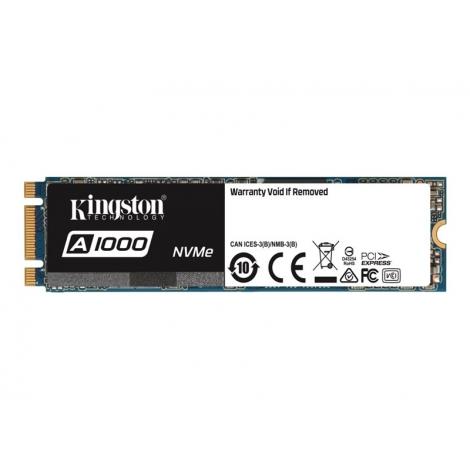 Disco SSD M.2 480GB Kingston A1000 2280