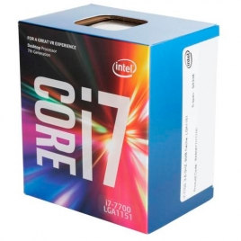 Microprocesador Intel Core I7 7700 3.6GHZ Socket 1151 8MB Cache Boxed
