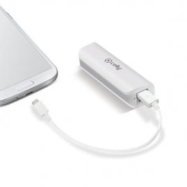 Bateria Externa Universal Celly 2.600MAH USB White