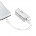 Bateria Externa Universal Celly 2.600MAH USB White