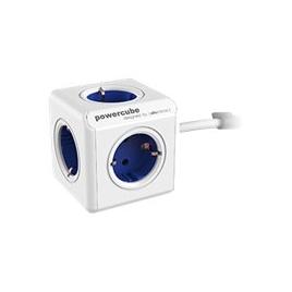 Regleta Powercube Extended 5 Tomas White/Blue 1.5M