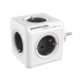 Regleta Powercube Original 5 Tomas White/Grey