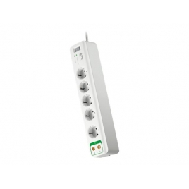 Regleta Protectora APC Surgearrest 5 Tomas + Antena TV White