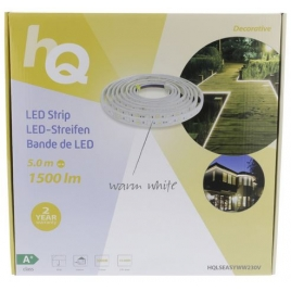 Tira LED HQ Strip 30 1500LM White Warm 5M