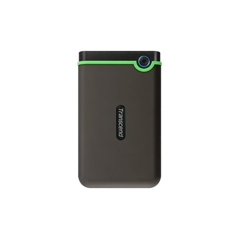 "Disco Duro Transcend 2TB Storejet 25M3S USB 3.1 2.5"" Grey/Green"