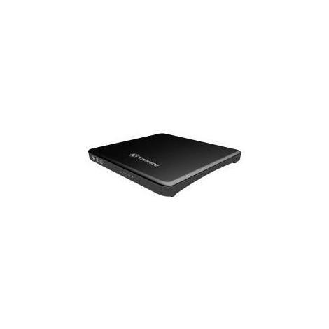Regrabadora DVD Transcend Externa 8X Slim USB 2.0 Black