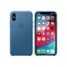 Funda iPhone XS Apple Leather Case Cape COD Blue