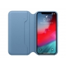 Funda iPhone XS Apple Leather Folio Cape COD Blue