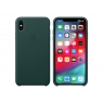 Funda iPhone XS MAX Apple Leather Case Forest Green